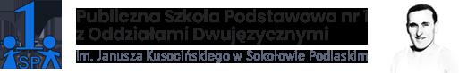 Logo Szkoła Podstawowa Nr 1 Sokołów Podlaski